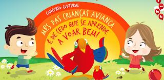 """Concurso Cultural """"Mês das Crianças Avianca"""""""