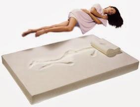 Almohada y colchones viscoelastica