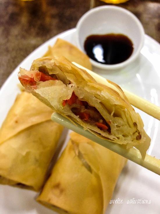 Spring rolls at Islam Food, Hong Kong | Svelte Salivations