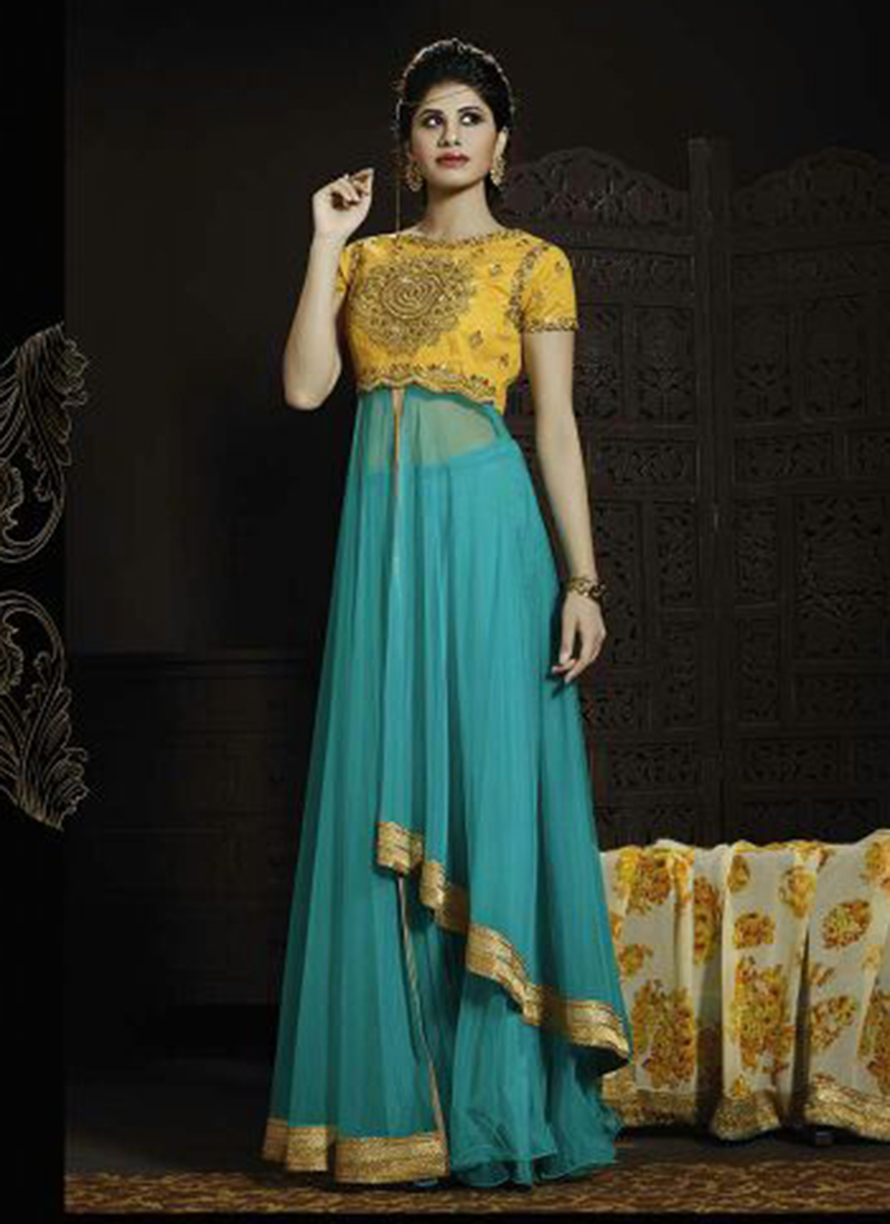 Georgette Eid Special Anarkali Suits Collection ~ Buy Indian Sarees ...