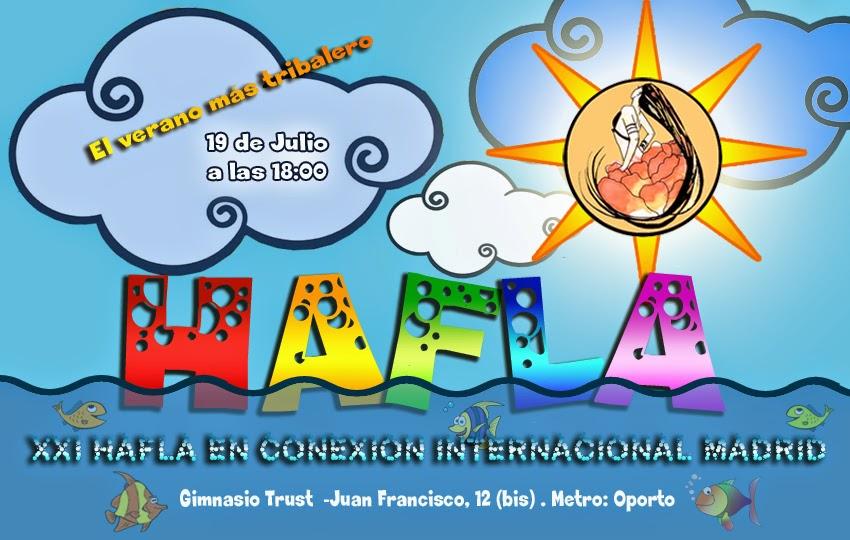 XXI Hafla en Conexión Internacional de Madrid Haflaver2014