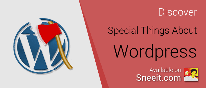 Discover Special Things about Wordpress Tutorial