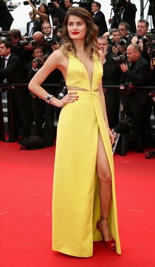 Vestidos glamourosos das celebridades no Festival de Cannes
