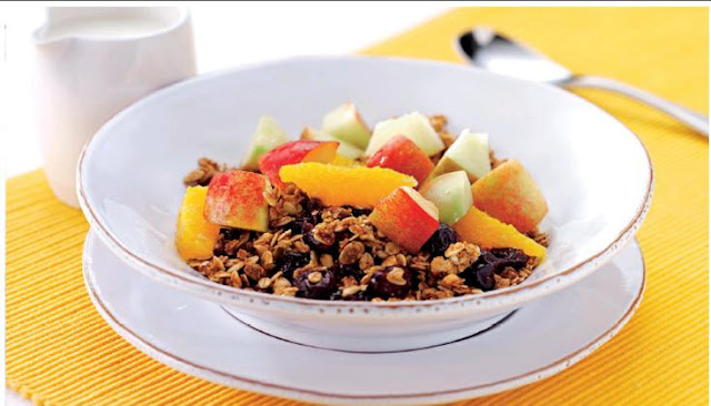 GRANOLA WITH Pure FRUIT