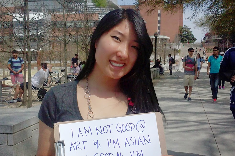 Breaking asian stereotypes