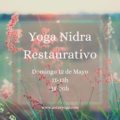 Masterclass Yoga Nidra Restaurativo