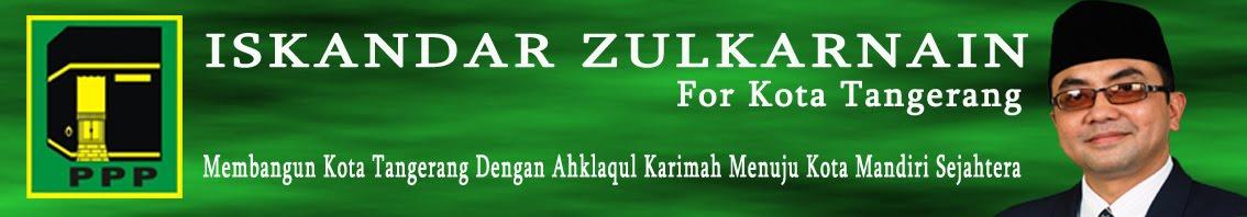 Iskandar Zulkarnain S. Ag  For Kota Tangerang