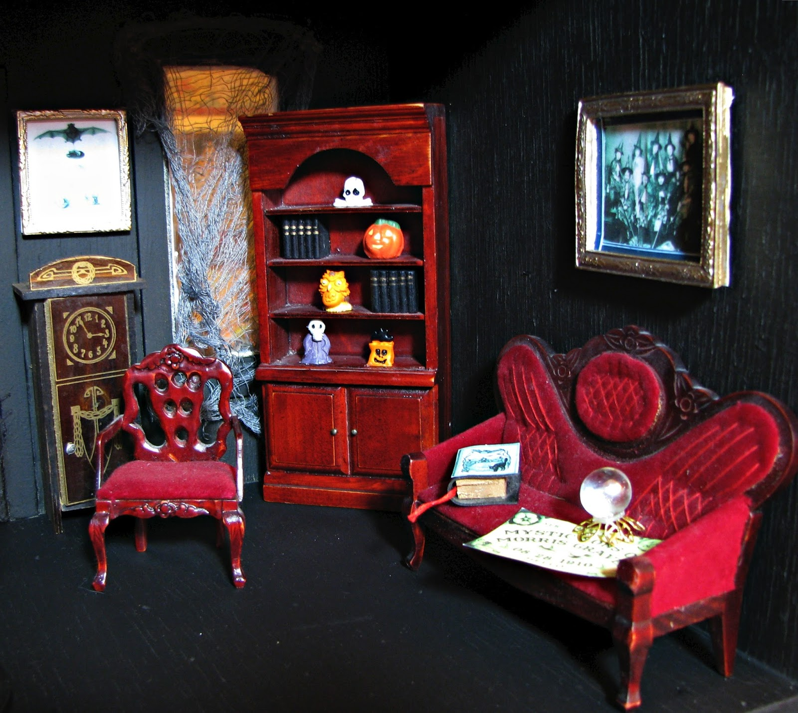 Tiny Tweaks...haunted Dollhouse Living Room
