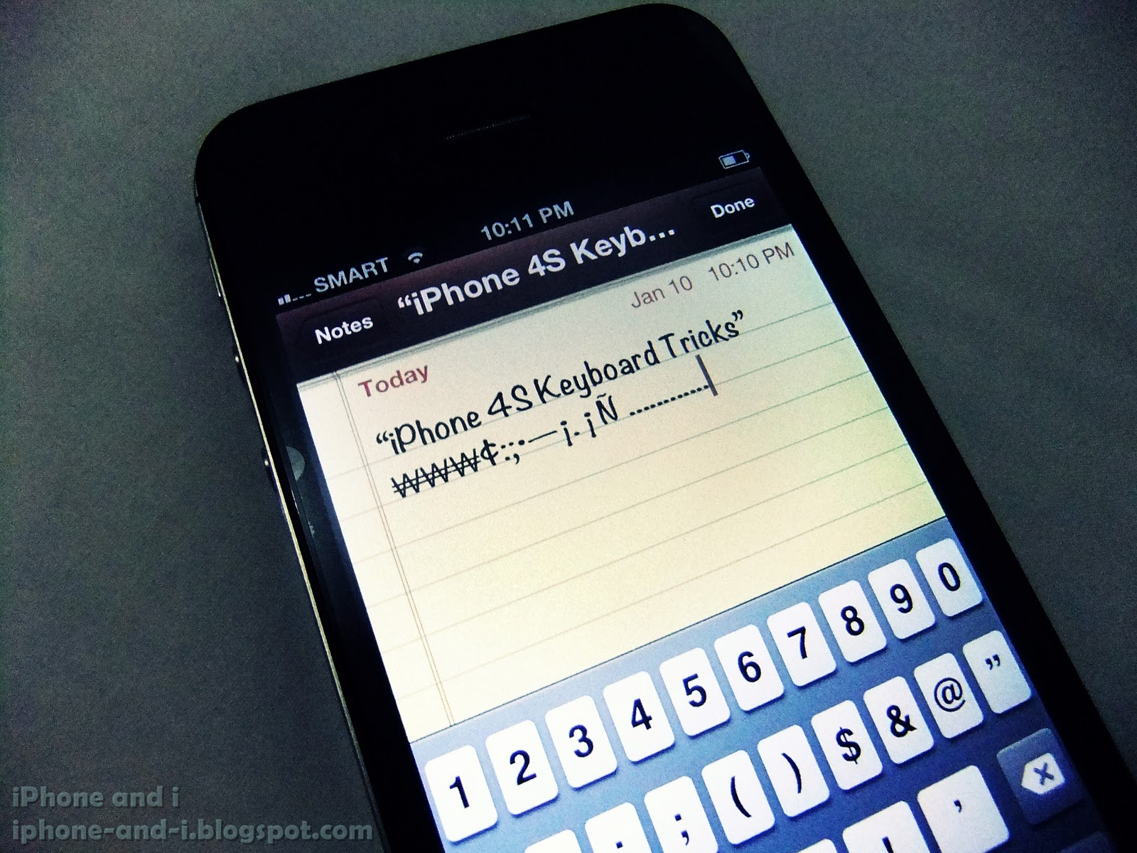 Iphone 4s keyboard tricks iphone tips and tricks some hidden symbols in the iphone 4s virtual keyboard biocorpaavc Choice Image