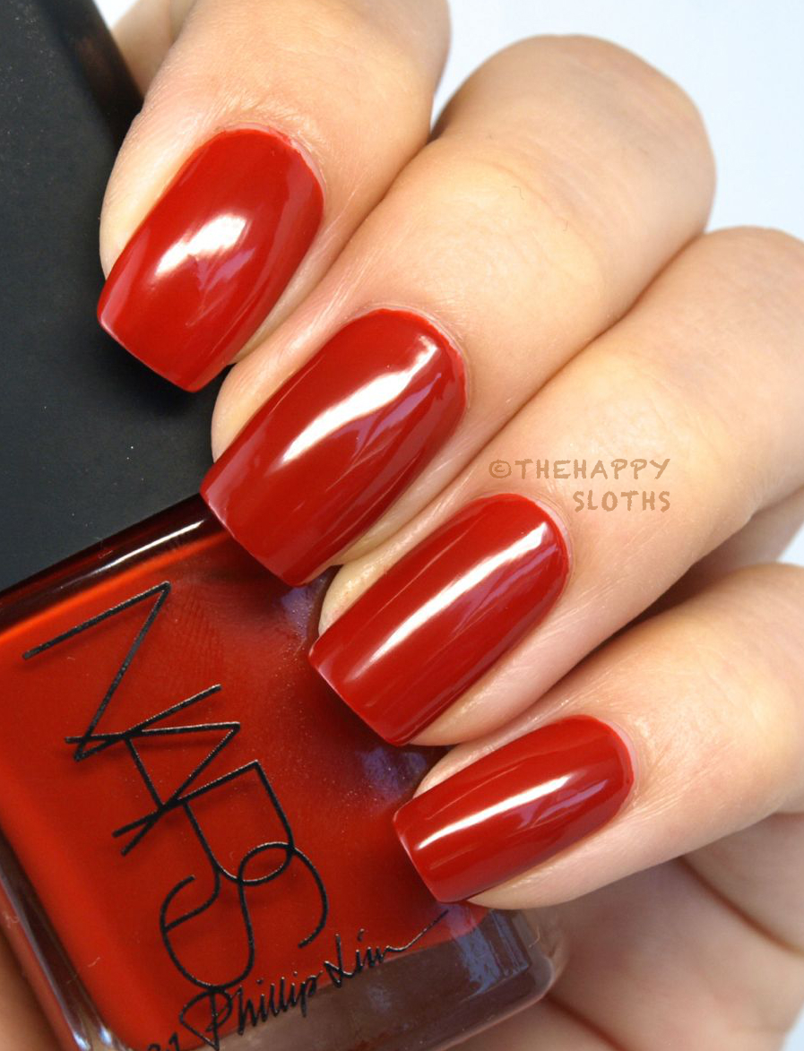 NARS 3.1 Phillip Lim Collection Nail Polish in Hell-Bent: Review and Swatches