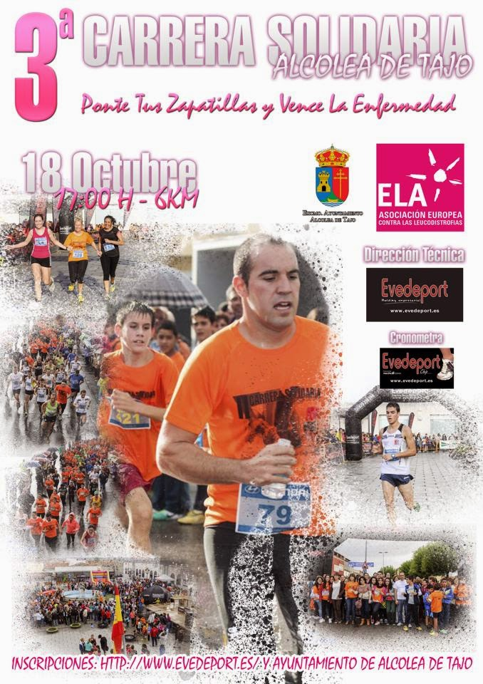 3ª Carrera Solidaria ELA España de Alcolea de Tajo