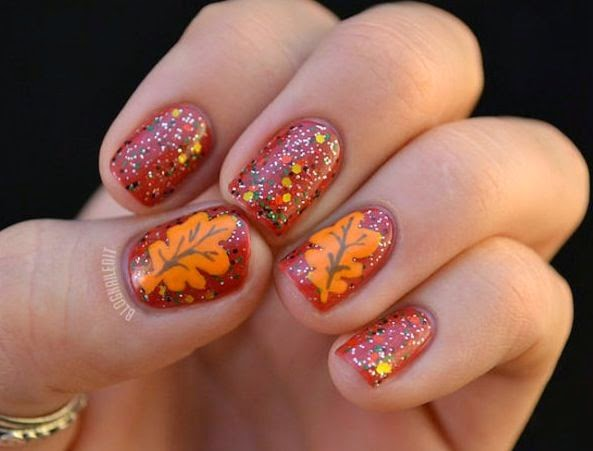 Autumn Nail Design 6