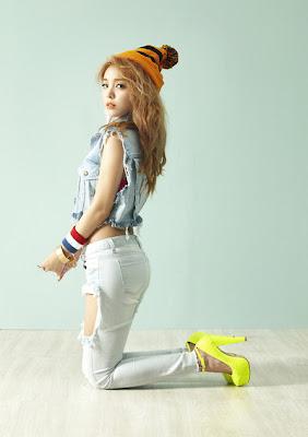 Ailee Korean Singer A's Doll House Concept Photo