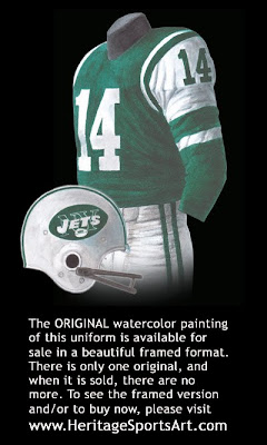 New York Jets 1965 uniform
