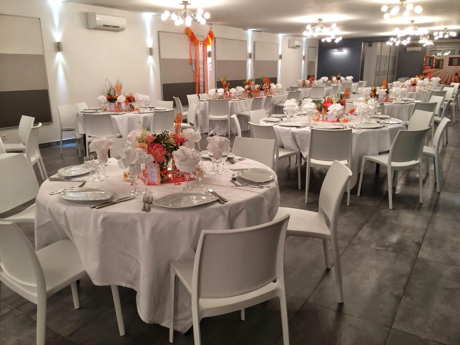 Decoration Mariage Corail Et Gris Blog Photo De Mariage