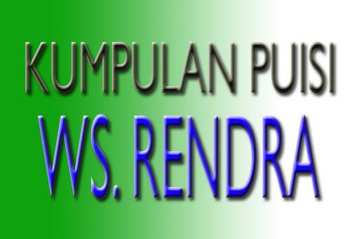 Posted In Kumpulan Puisi Ws Rendra