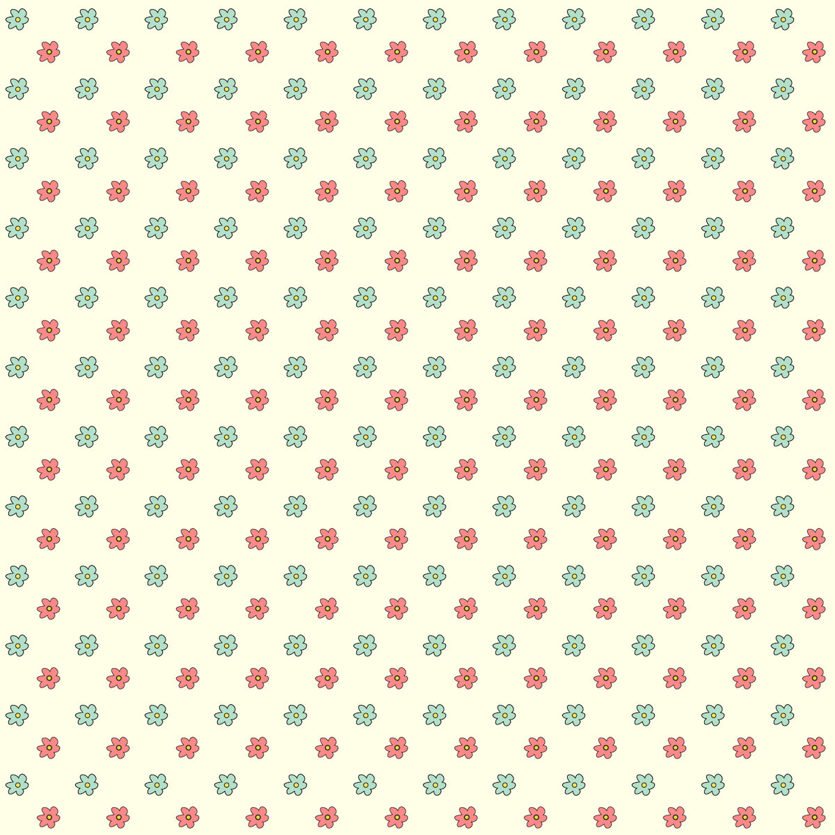 Scrapbook Paper Flower Patterns Floral scrapbooking paper