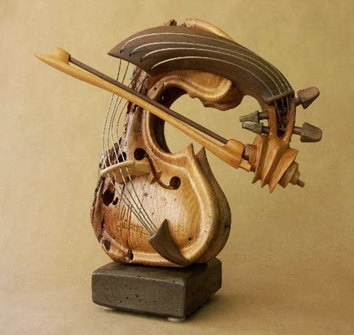 12-Self-Taught-Philippe-Guillerm-Musical-Instruments-Sculptures-French-Artist-Musician-Sculptor-Painter-Furniture-Maker-www-designstack-co