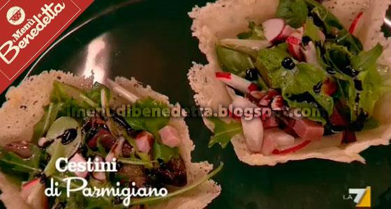 Cestini di Parmigiano di Benedetta Parodi