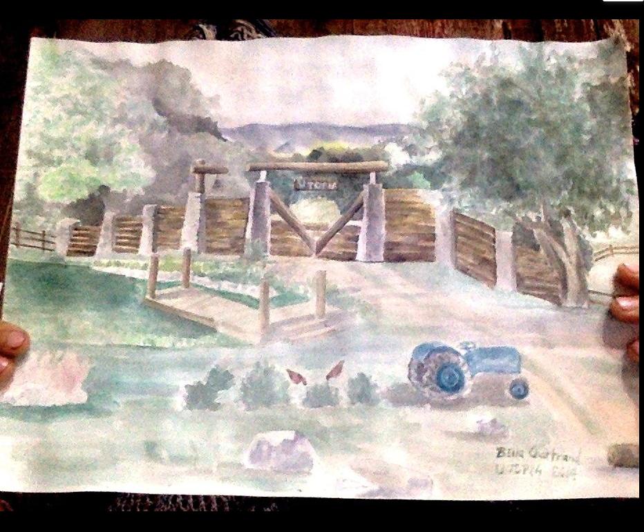 Bella Utopia painting