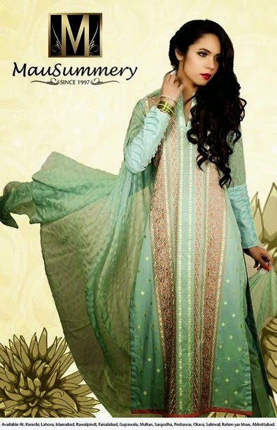 Mausummery Eid Dresses Collection
