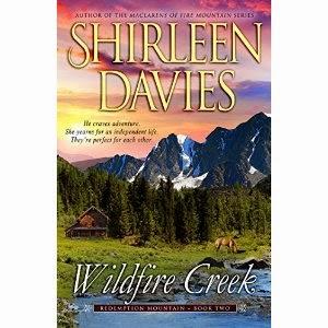 shirleen davies, wildfire creek, historical romance, frontier romance