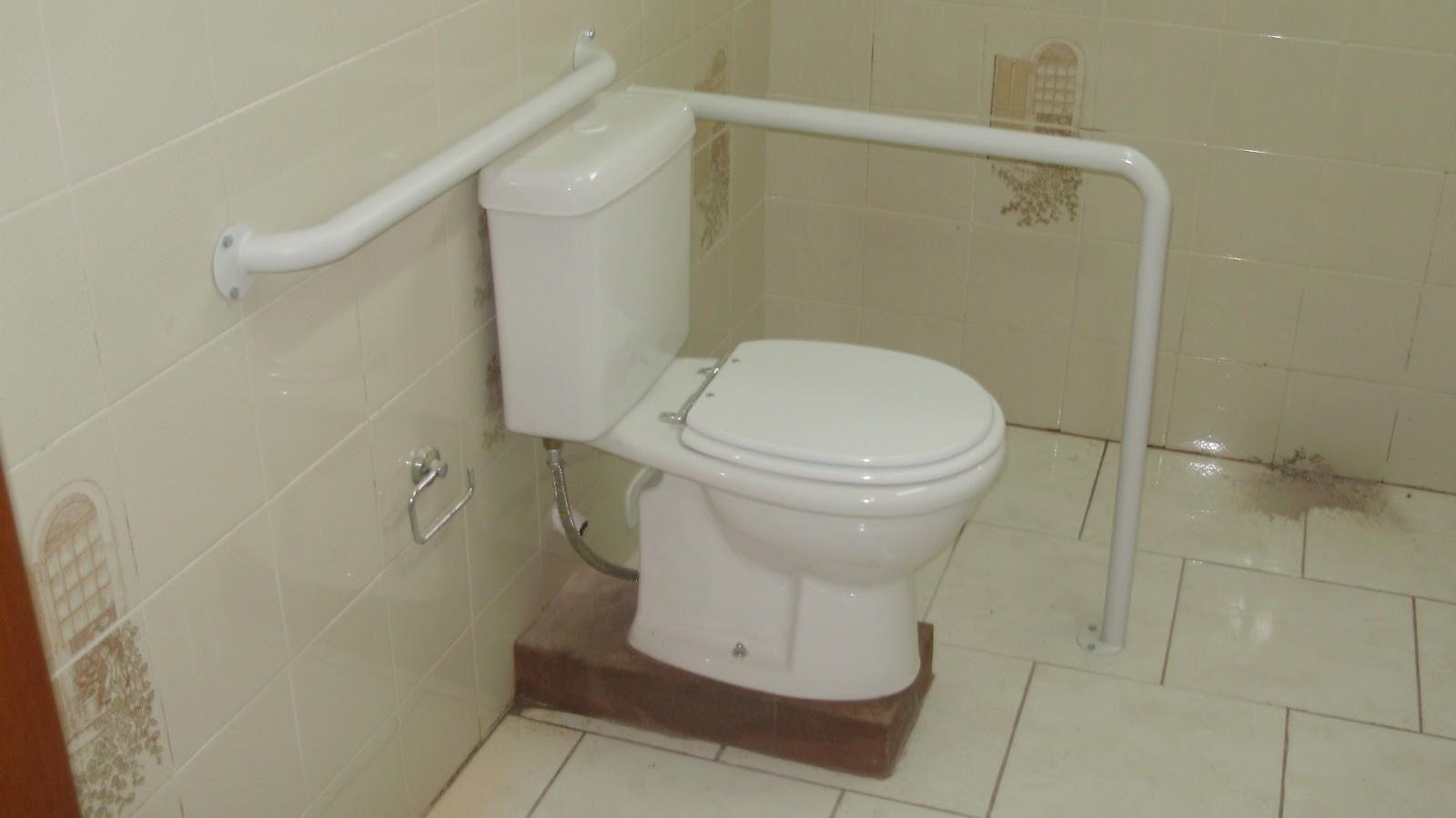 SERRALHERIA CAIADO: Kit de Acessibilidade para banheiros NBR 9050 #603C26 1600 900