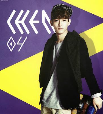 exo chen calendar 2014