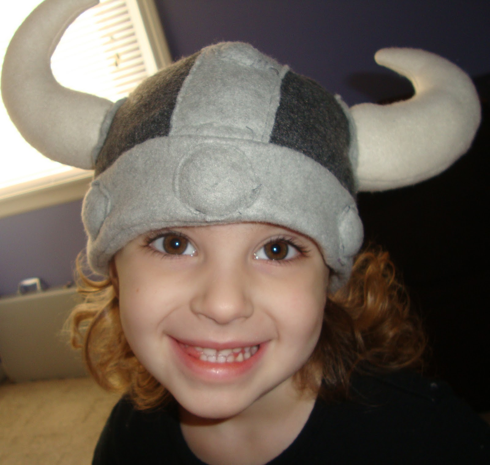 Bethany Sew-and-Sew: How to Make a Fleece Viking Hat