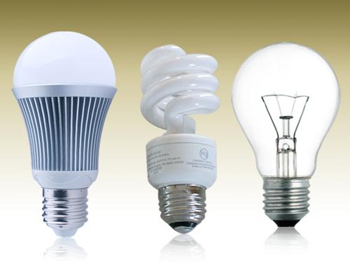 led bulbs vs cfl bulbs vs incandescent. Black Bedroom Furniture Sets. Home Design Ideas