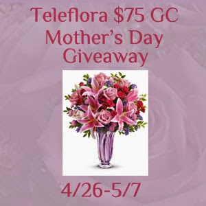 $75 Teleflora Mother's Day Giveaway