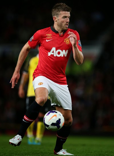 Michael Carrick Manchester United Contract 20132014