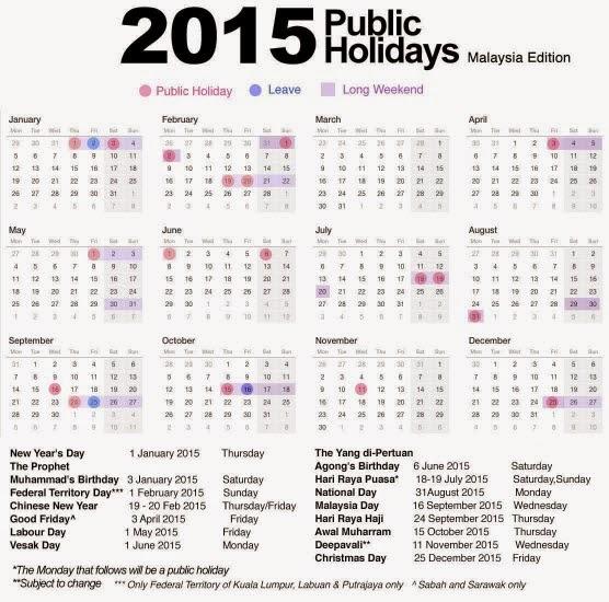 Cuti | Holiday | Percutian | Tahun 2015 | Vitamin | Supplement | Kesihatan | Shaklee | Sungai Buloh | Setiawangsa