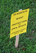 CONSERVE OPEN SPACE IN PARKS