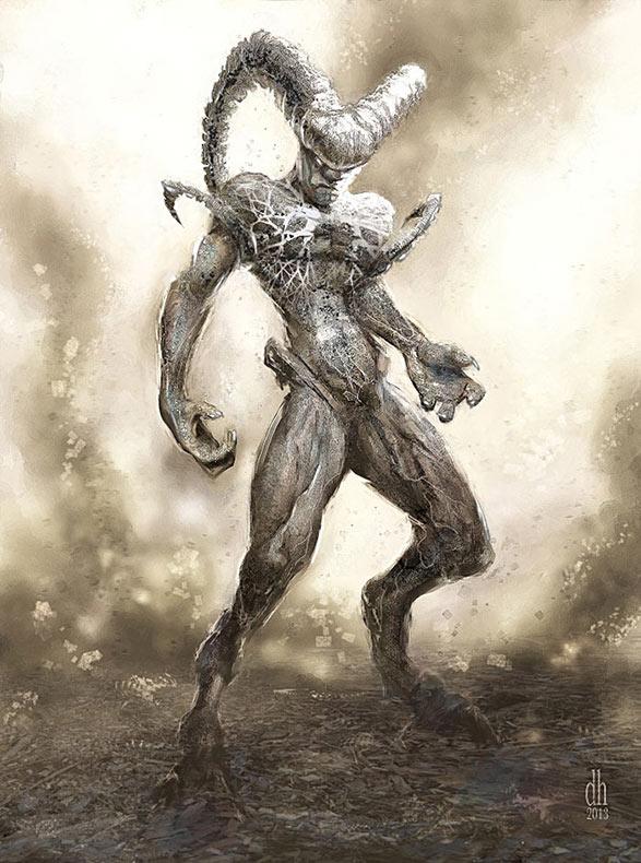12 Signos del Zodiaco renacen como aterradores monstruos por Damon Hellandbrand