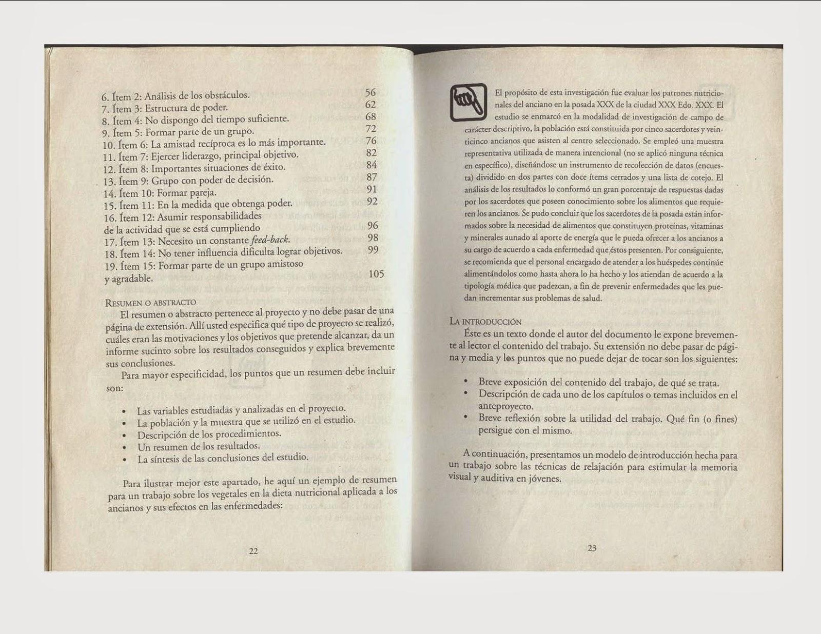 Enseñanza de la Biologia: ESQUEMA GENERAL PARA ELABORACIÓN DEL ...