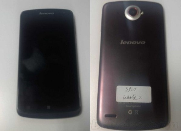 Leaked Images of Lenovo S920 Leaked, Runs Android 4.2 Jelly Bean