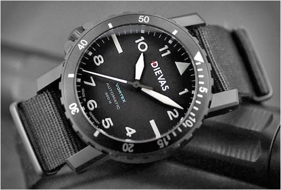 Vortex tactical dive watch greenstylo for Vortix watches