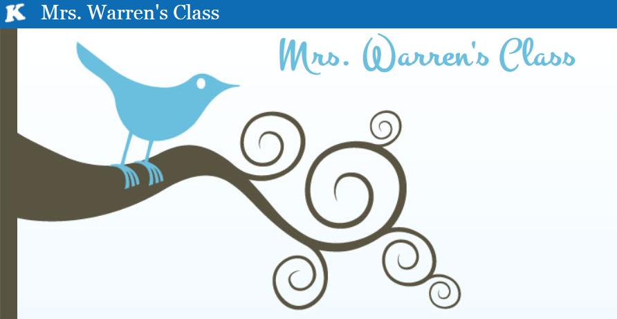 Mrs. Warren's Class Kidblog