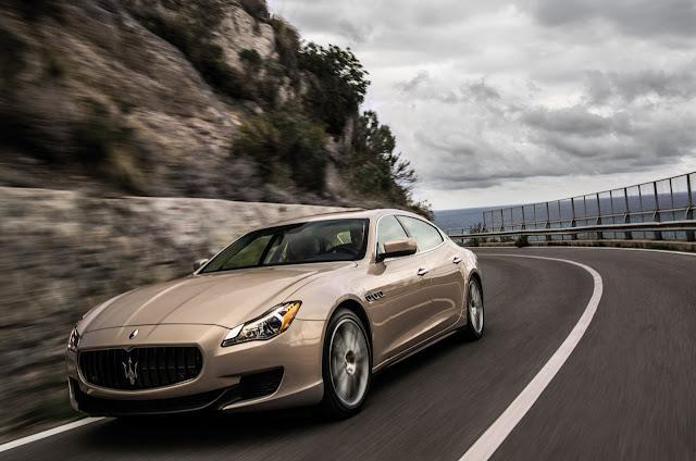 La nuova Maserati Quattroporte 2013 su strada