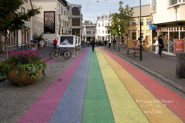 honeymoon-in-iceland-reykjavik-rainbow-street