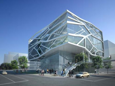 Home Design on Design Of Gimpo Art Hall By Gansam Partners   Amazing Concept Design