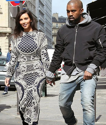 Kim Kardashian Paris short hair