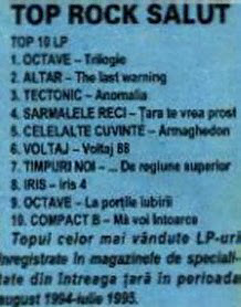 1995-08_Revista Salut Nr 52_Top Rock Salut 2