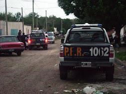 Sorpresivos allanamientos en el barrio Cantera 25 de Concepción del Uruguay