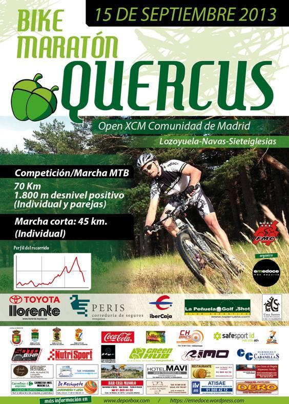 910dc82cbed Bike Maratón QUERCUS