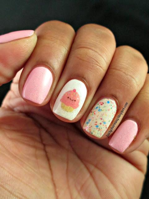 Nailed Kit, DIY nail art, subscription box, birthday, cupcake, all in one, nails, nail polish. nail art, nail design, mani