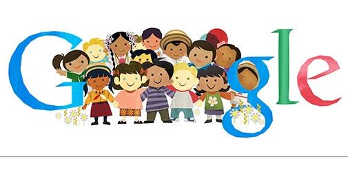 Google Doodle Children's Day Dan Sejarahnya