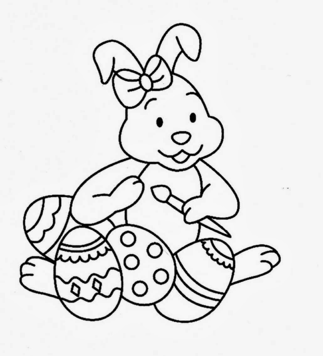 Easter's Drawings for Coloring, part 3