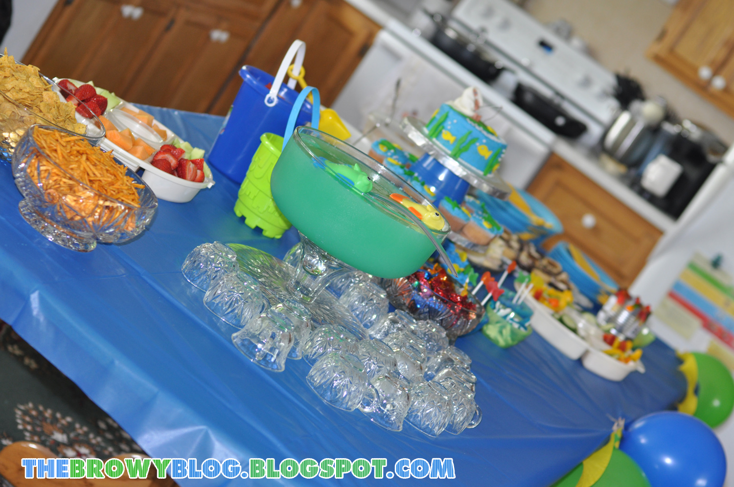 fishing themed baby cake ideas and designs